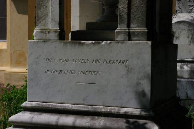 """My second favorite epitaph. First favorite: """"She hath done what she could."""""""