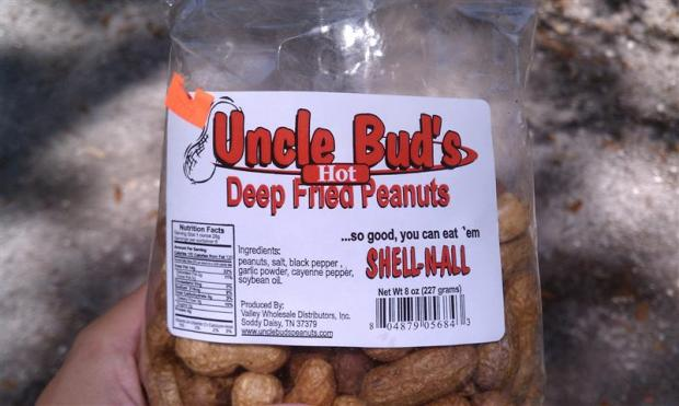 T'ain't but a peanut, fried and yummy.