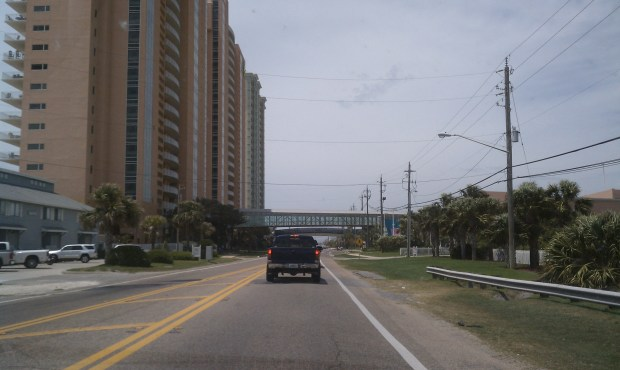 This is why you plan. Where are the sidewalks in Panama City???