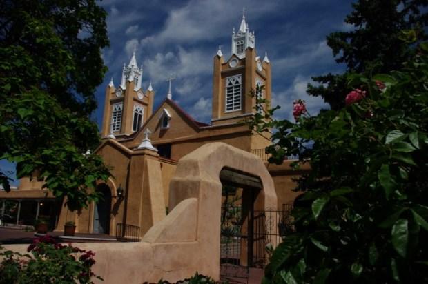 The San Felipe de Neri Church in Old Town