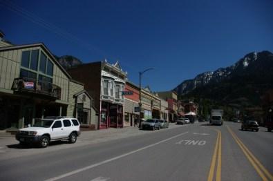 Ouray's main street.