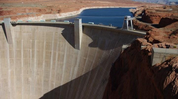 The Damn Glen Canyon Dam and Page, AZ