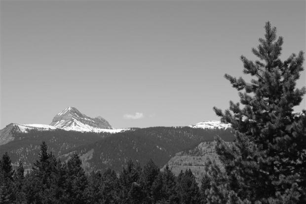 Engineer Mountain -- a big one.