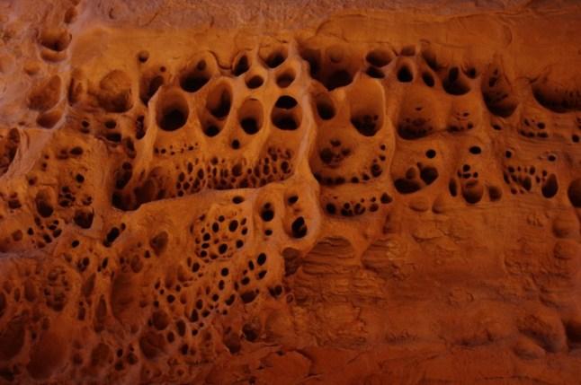 Amazing erosion patterns.
