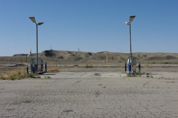 Lonely pumps.