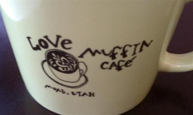 Amazing coffee at Love Muffin Cafe.