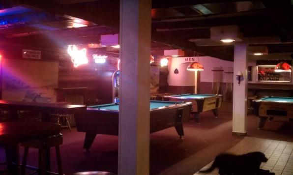 The Casino Bar has pool.