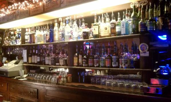 The Casino Bar has booze.