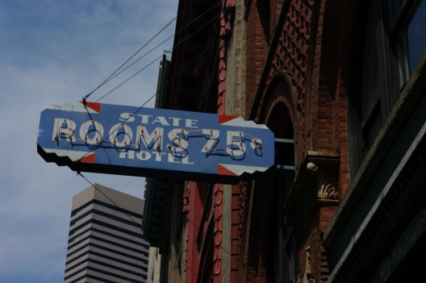 Possibly the cheapest place to stay in Seattle.