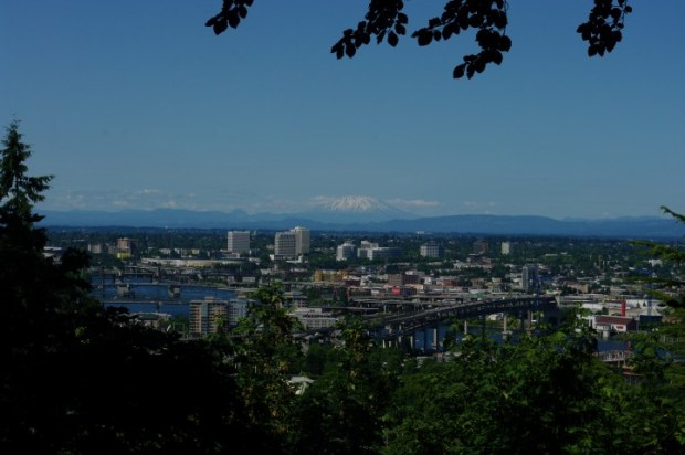 Mt. St. Helens, east Portland.