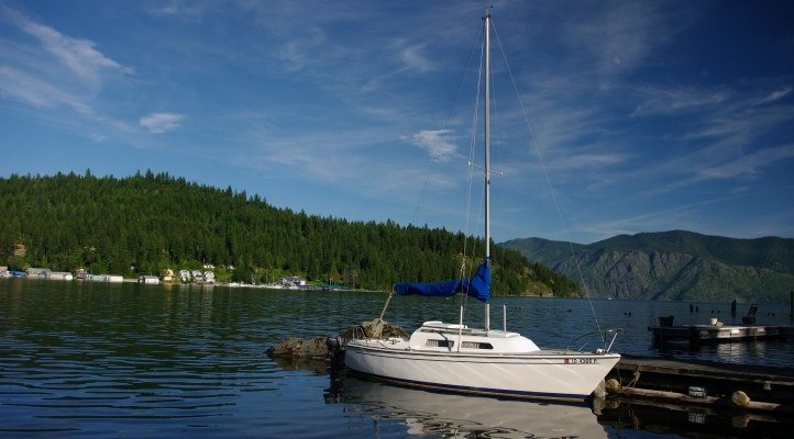 Visiting Lake Pend Oreille and My Dad's College Buddy, Jeff