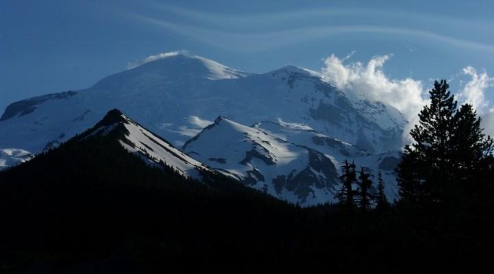 Peaceful Mt. Rainier