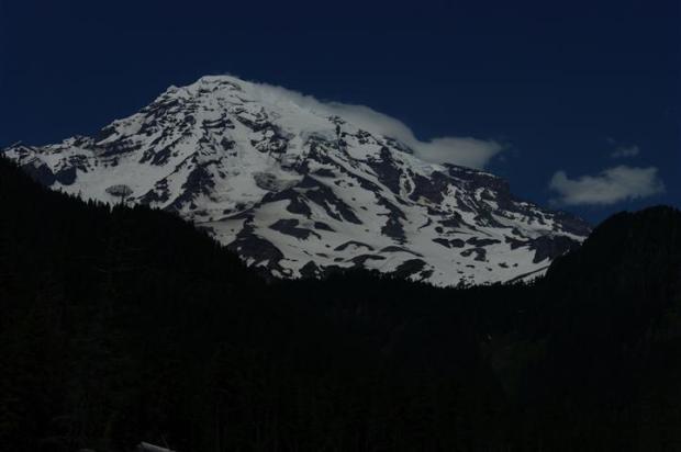 Kapow! I'm Mount Rainier, Bitch!