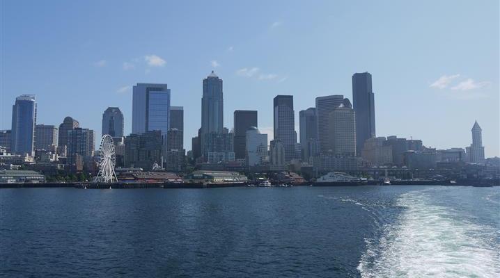 Riding the Seattle – Bainbridge Island Ferry