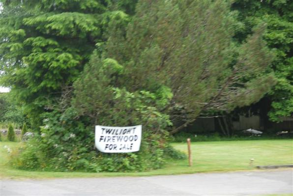 The best one: Twilight Firewood for Sale. What makes it 'Twilight'? It's covered in blood.