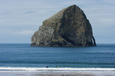 In Pacific City.
