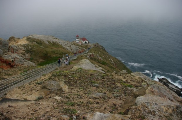 Thanks to the fog, we got to hear the ominous foghorn.