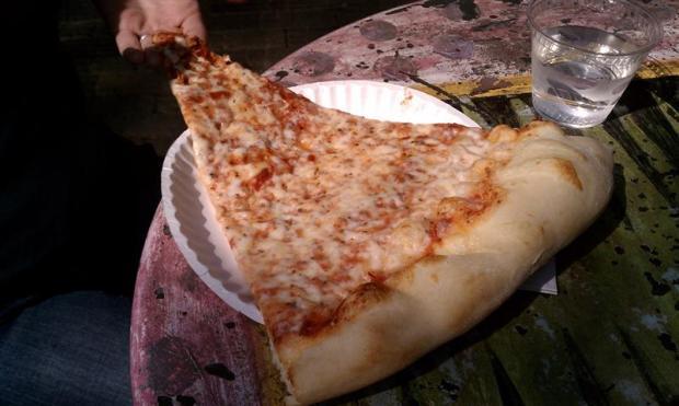 Damn good pizza. Damn good town.