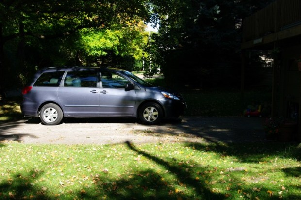October 1, 2011 ... van in Wisconsin. It's about four feet to the right on October 1, 2012.