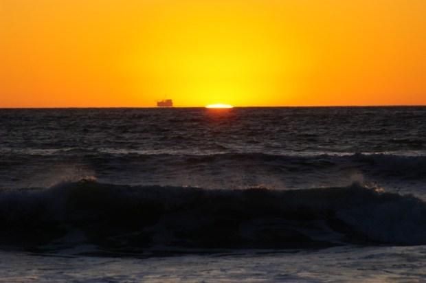 A Rothko sunset.