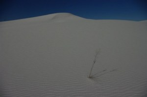 White Sands of Silence ... sometimes.