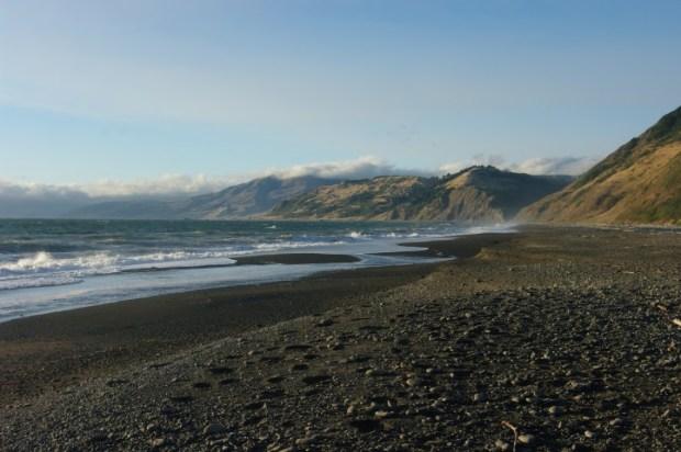 The edge of California.