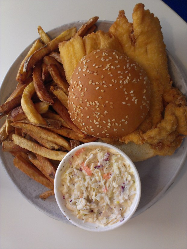 The perfect New York fish fry from Doug's To Go.