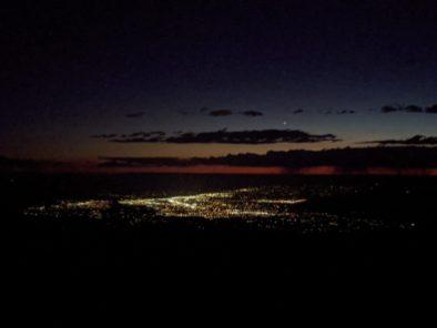 Lights from Palisade to Fruita