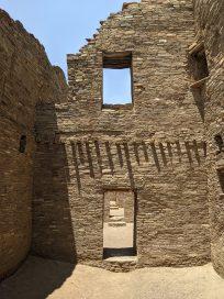 Inside Pueblo Bonito