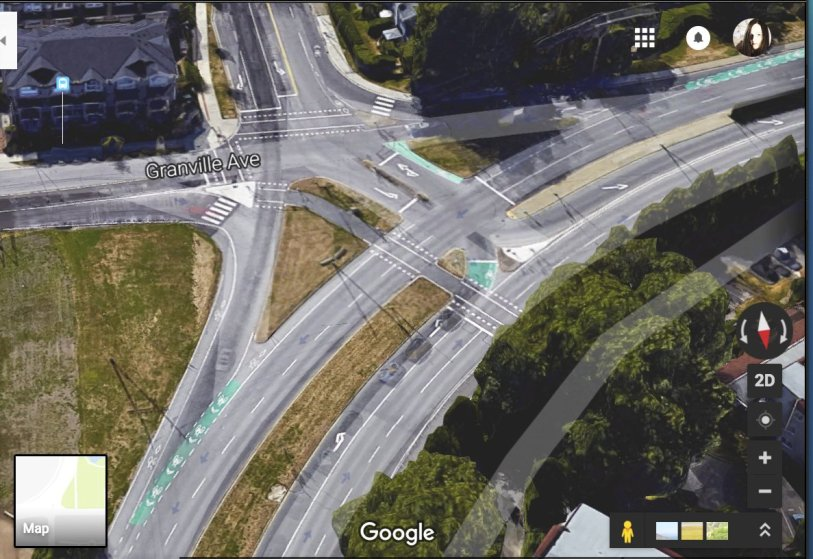 complicated intersection