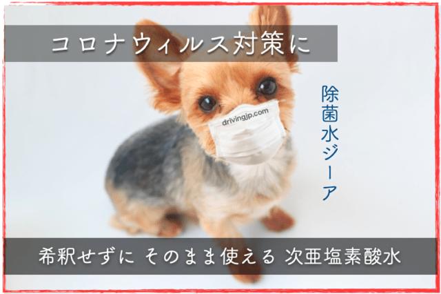 新型コロナウィルス対策に
