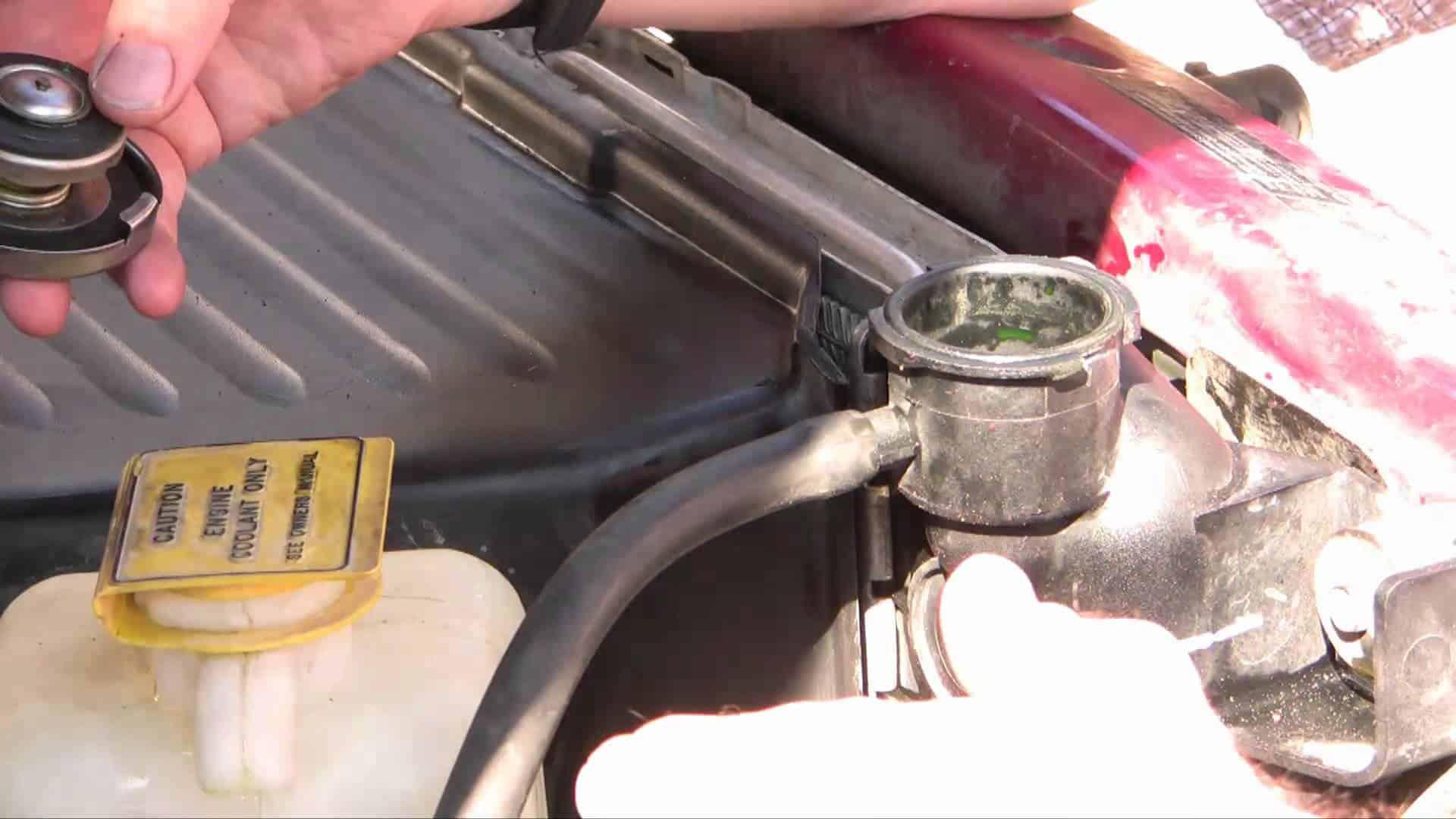 Engine Radiator Flush Kit