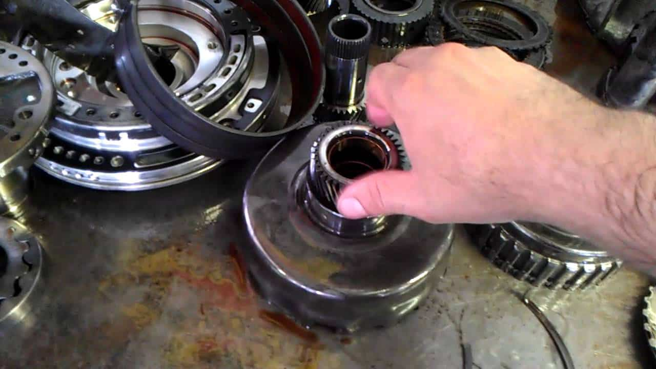 hight resolution of 4r100 transmission problems