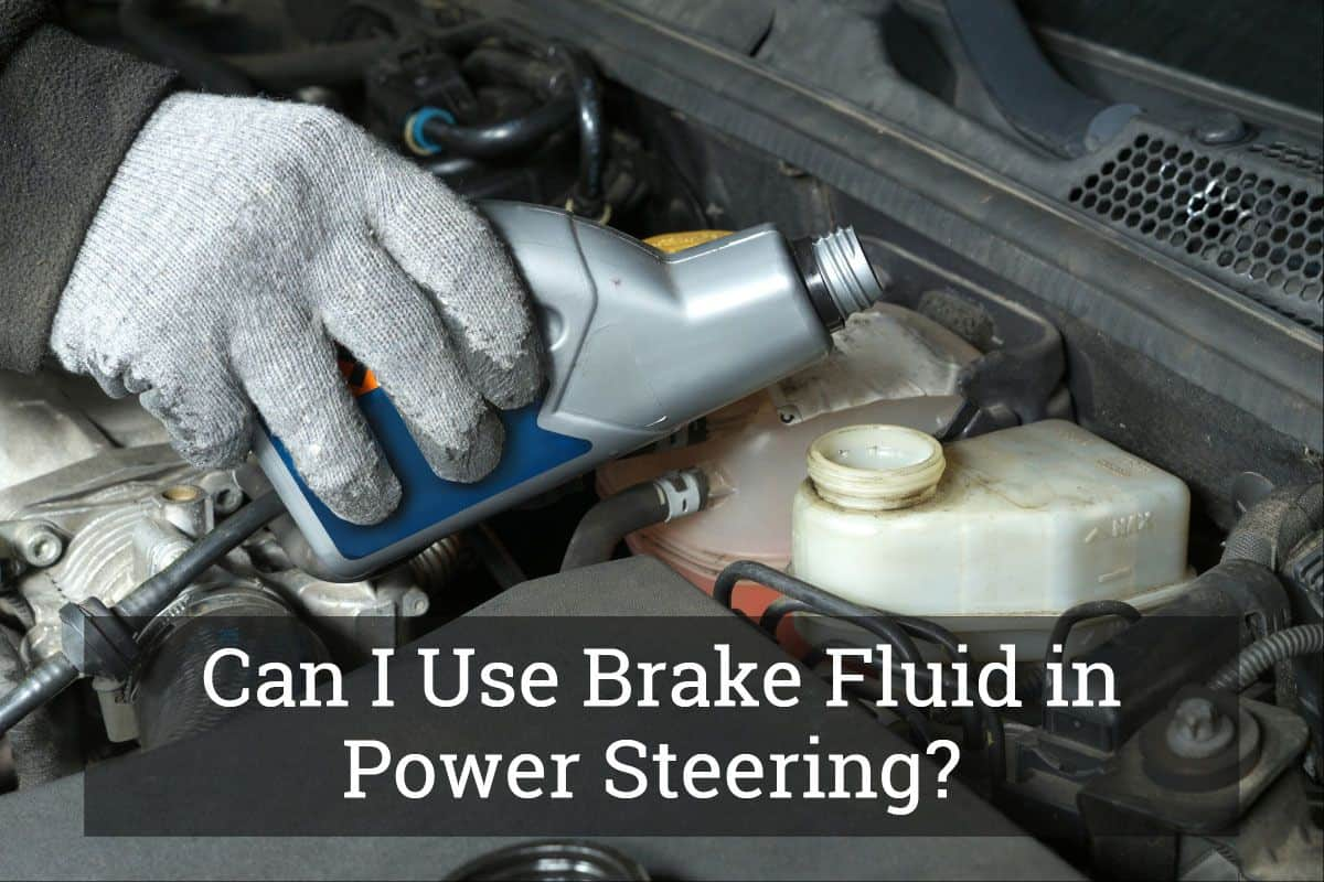 hight resolution of brake fluid in power steering