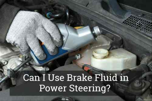 small resolution of brake fluid in power steering