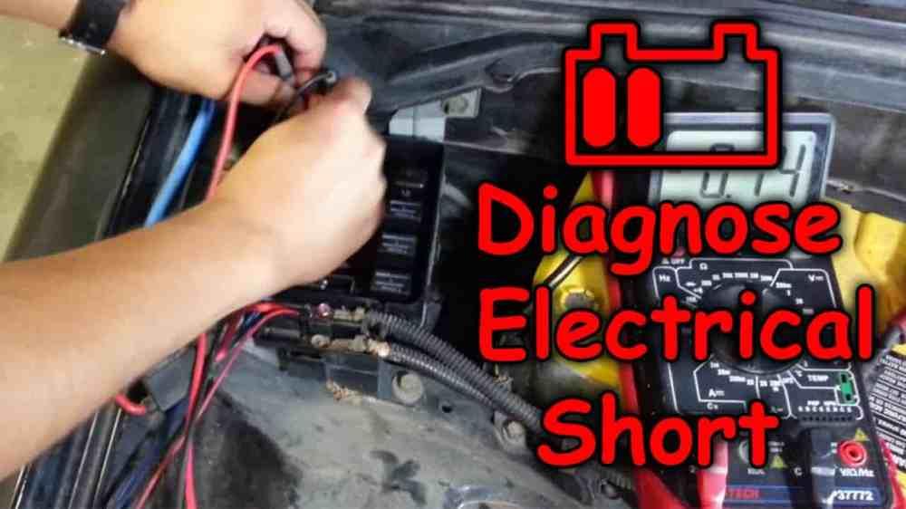 medium resolution of short circuit in car