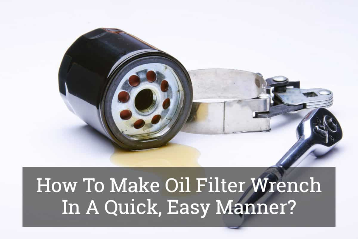 hight resolution of how to make oil filter wrench