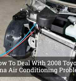 how to deal with 2008 toyota sienna air conditioning problems  [ 1200 x 800 Pixel ]