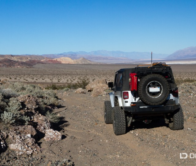 Unnamed Trail Exploration In The Mojave Desert