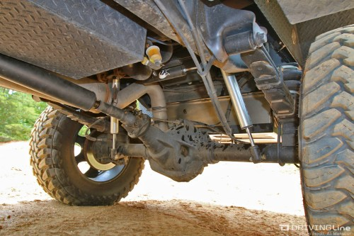 small resolution of the answer lies in how the axletubes are secured to the differential centersection as is the case with most axles the sterling has a spot welds that keep