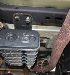 the evap canister on our 07 wrangler unlimited had nothing to protect it from the factory depending on the age of the jeep you may find that the hoses  [ 1200 x 800 Pixel ]