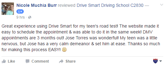 drive smart driving school review august 2016