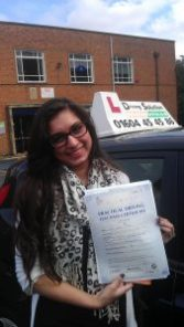 Intensive driving course Kettering