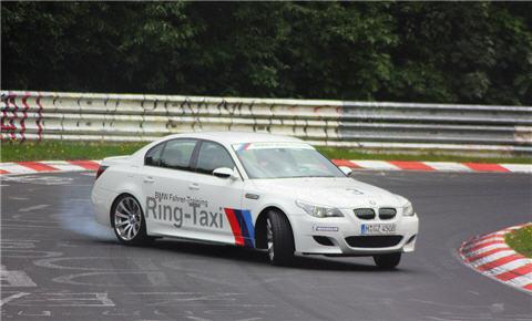 Nurburgring BMW M5 Taxi