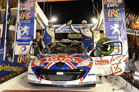 Kris Meeke Peugeot 207