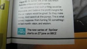 Top Gear Season 15 Start Date