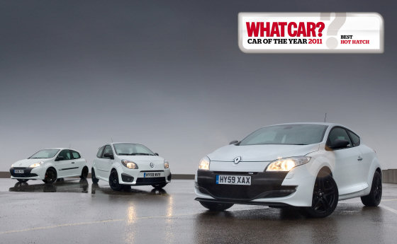 Renaultsport What Car Winners 2011