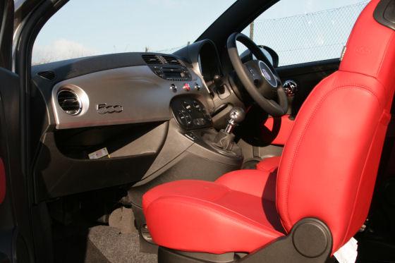 Fiat 500 TwinAir Plus Interior