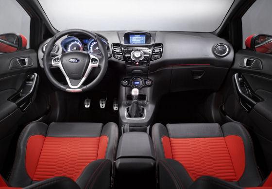 Ford Fiesta ST Interior 2012