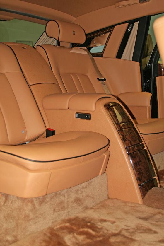 Rolls Royce Phantom Series II Rear Seats